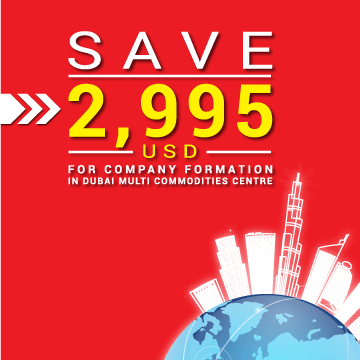 Best Save US$ 2,995 On Company Set Up In Dubai Multi Commodities Centre