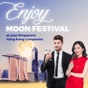 Enjoy Full-Moon Festival Promotion at your Singapore/Hong Kong Companies