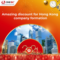 Happy New Year 2021 - Enjoy 10% discount for Hong Kong company formation