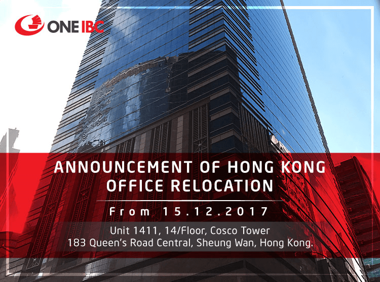 Announcement Of Hong Kong Office Relocation