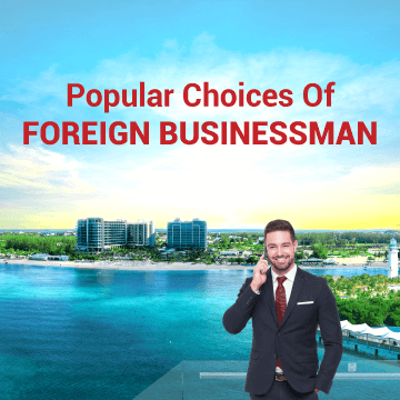 Foreign businessman's most favored jurisdictions - Belize and Cayman Islands
