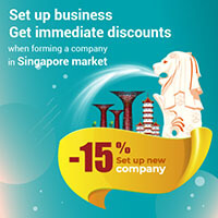Set up business - Get immediate discounts when forming a company in Singapore market
