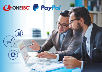 PayPal is a trusted partner of One IBC