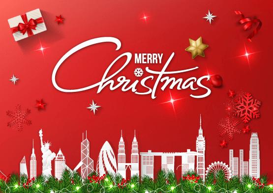 Giáng Sinh vui vẻ đến tất cả khách hàng!