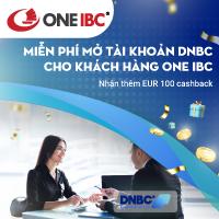 Miễn phí mở tài khoản DNBC cho khách hàng ONE IBC