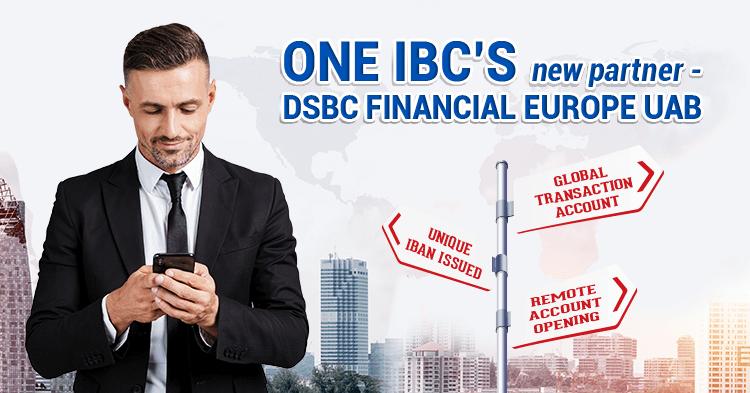 One IBC's new partner - DSBC Financial Europe UAB