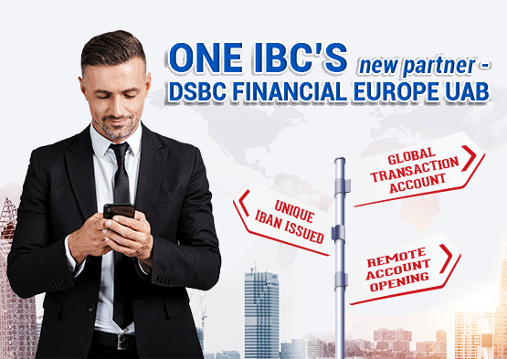 One IBC's new partner - DSBC Financial Europe UAB