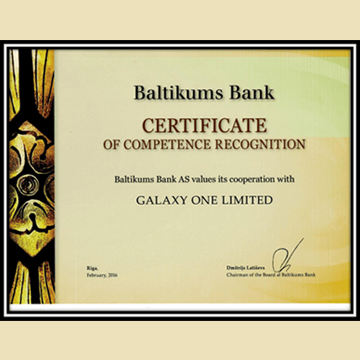 A Good & Long relationship between Offshorecompanycorp & Baltikums Bank