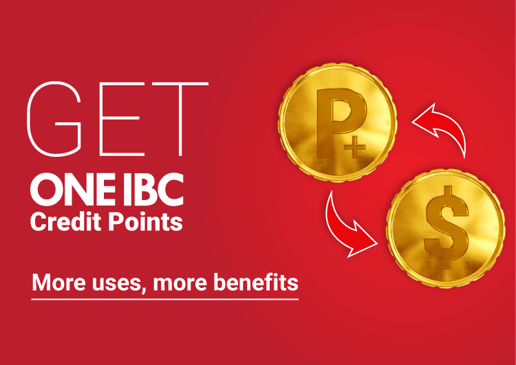 One IBC Club has been established for you. More uses, more benefits