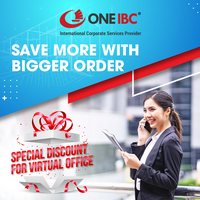 Save more with bigger order Special Discount for Serviced Office