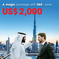 A magic package with UAE - save US$ 2,000