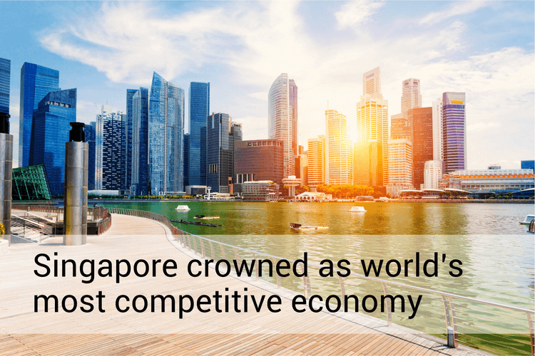 Singapore crowned as world's most competitive economy
